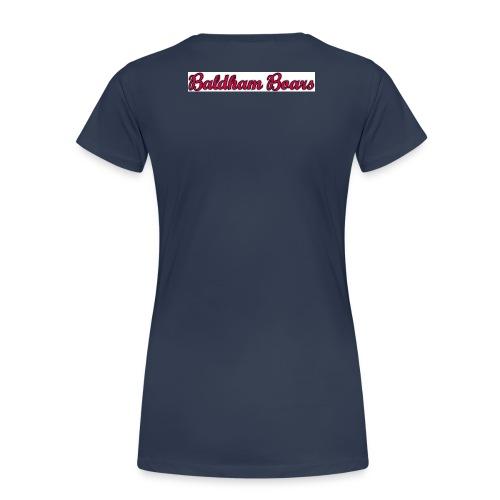 Baldham Boars Schrift - Frauen Premium T-Shirt