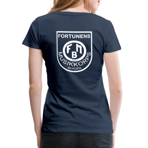 transparent logo - Premium T-skjorte for kvinner
