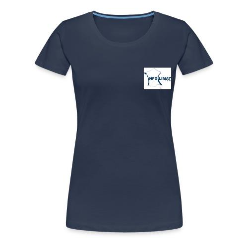 face tee shirt site - T-shirt Premium Femme