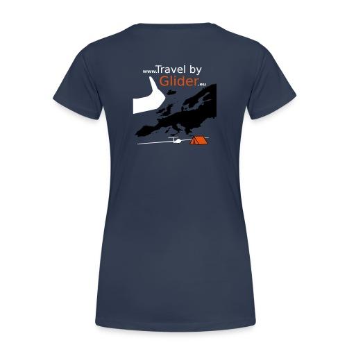TravelByGlider_Shirt_Logo - Frauen Premium T-Shirt