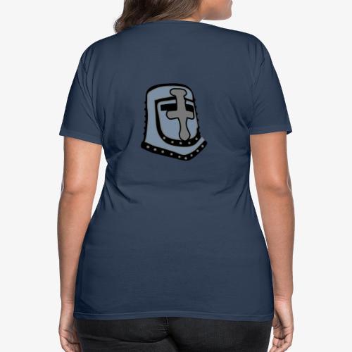 templar knight helmet fantasy - Women's Premium T-Shirt