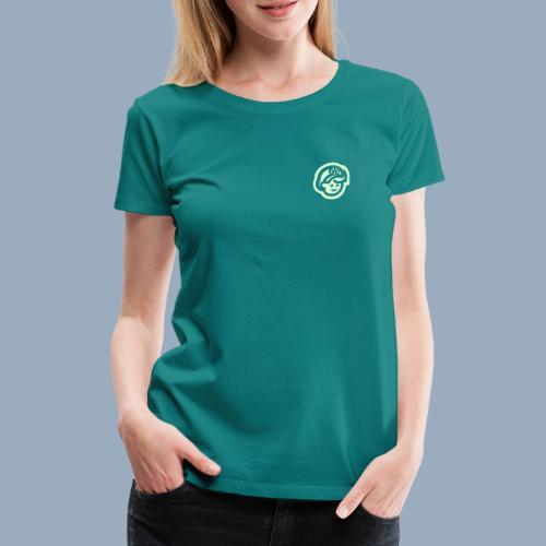 logo bb spreadshirt bb kopfonly inv - Women's Premium T-Shirt