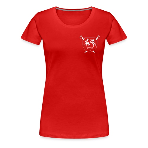 logo miekallinen vastaväri - Naisten premium t-paita
