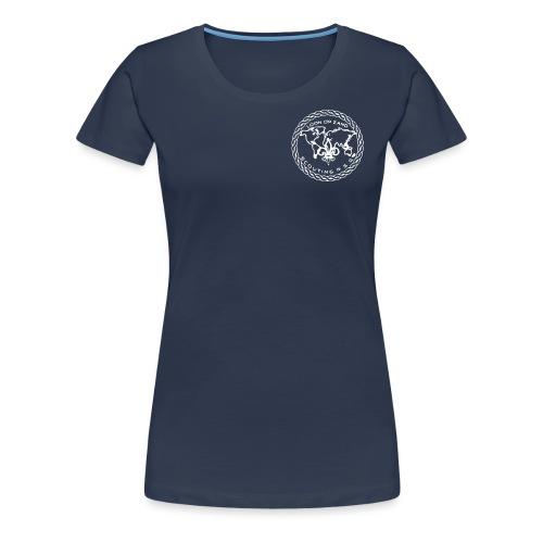 Logo PSG standaard zw klein eps - Vrouwen Premium T-shirt