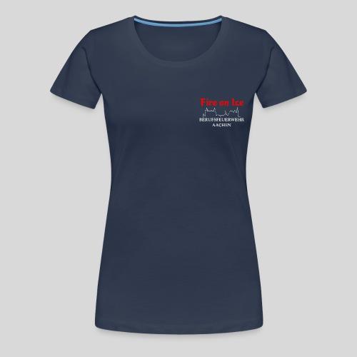 BF Aachen Logo Brust png - Frauen Premium T-Shirt