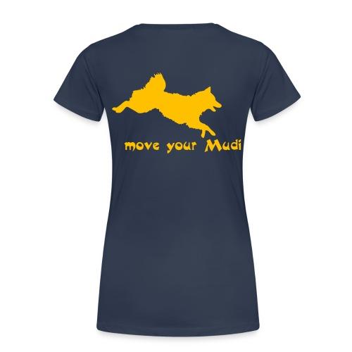 moyomu orange - Women's Premium T-Shirt