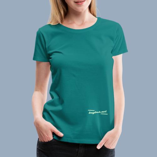 BB LOGO Typo only - Women's Premium T-Shirt