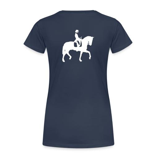 dressurreiter pferd - Frauen Premium T-Shirt