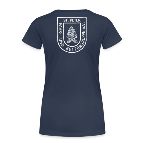 FURG_Logo_weiß_2 - Frauen Premium T-Shirt