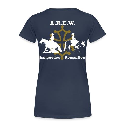 AREW Languedoc Roussillon - T-shirt Premium Femme
