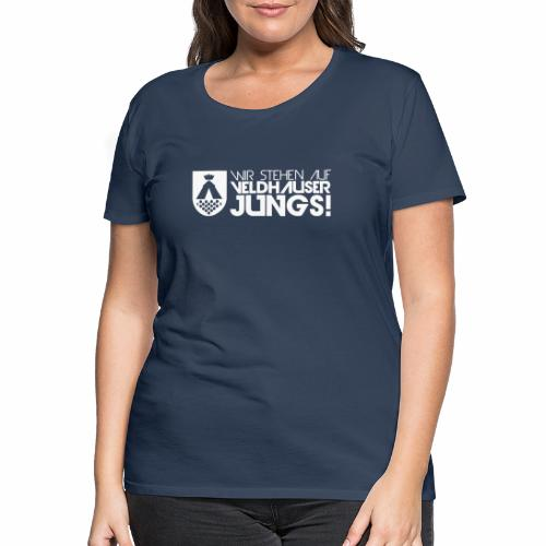 wappen maedel - Frauen Premium T-Shirt