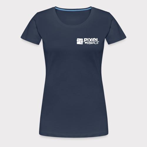 PM Logo (White) - Frauen Premium T-Shirt