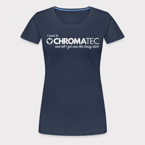 chromatec souvenir white - Frauen Premium T-Shirt