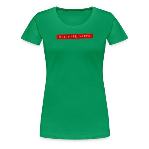 Ultimate vaper 1 png - T-shirt Premium Femme