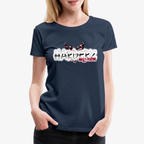 harder'z girls power - T-shirt Premium Femme