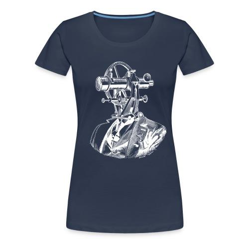 Theodolite Head v2 W - Women's Premium T-Shirt