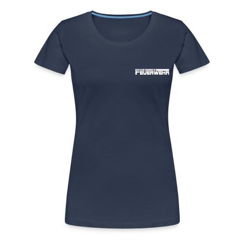 Freiwillige Feuerwehr Schriftzug - Frauen Premium T-Shirt