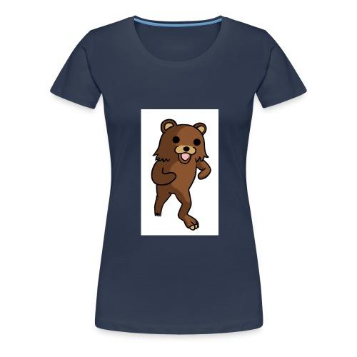 QR-code - Frauen Premium T-Shirt