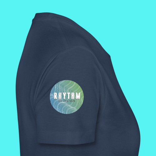 Rhythm On The Run Logo - Women's Premium T-Shirt