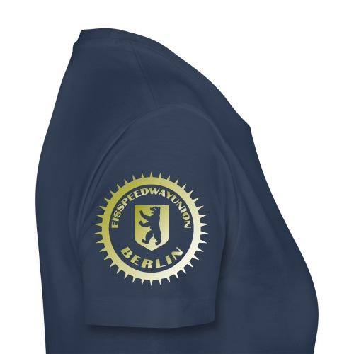 Logo klein ESU gold - Frauen Premium T-Shirt