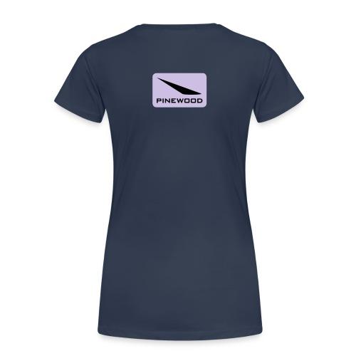 pnw lozenge white with green cmyk - Women's Premium T-Shirt