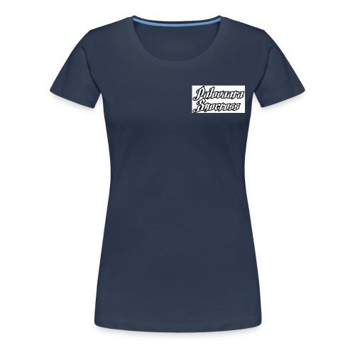 klistermärke jpg - Premium-T-shirt dam