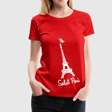 Paryż - Koszulka damska Premium
