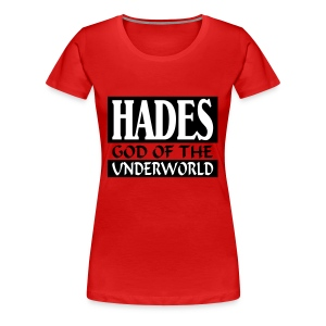 Hades _-_ God_Of_The_Underworld - Vrouwen Premium T-shirt