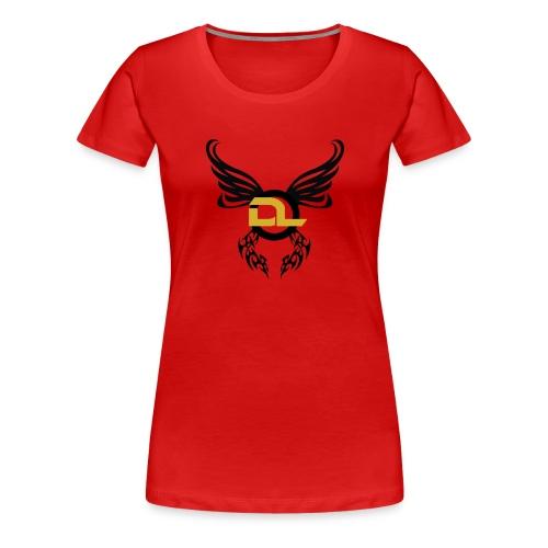 DL 2 - Premium-T-shirt dam