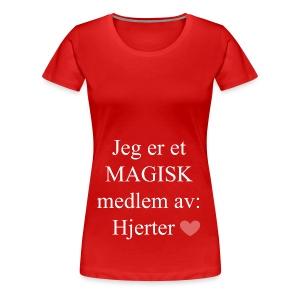 MAGISK Medlem - Premium T-skjorte for kvinner
