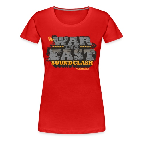 WAR INA EAST woman - Women's Premium T-Shirt
