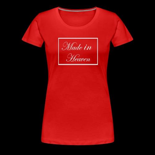 Made in Heaven Logo - Women's Premium T-Shirt
