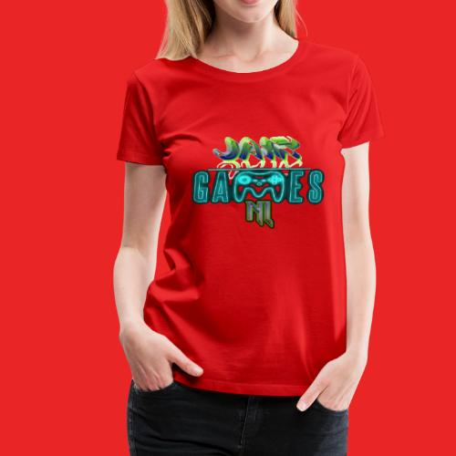 JairGames NL merch - Vrouwen Premium T-shirt