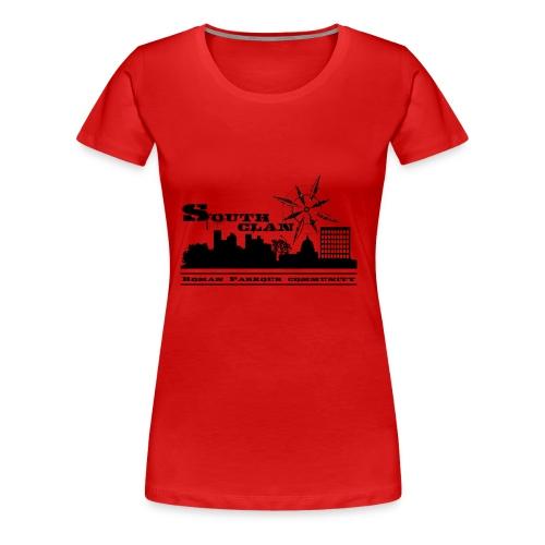 SOUTH CLAN CLASSIC - Maglietta Premium da donna