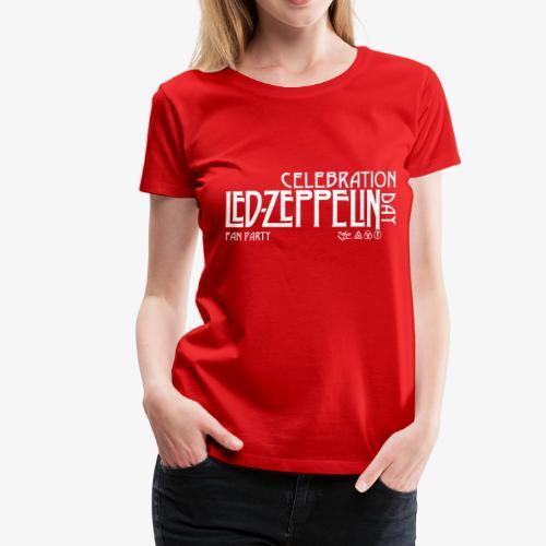 LZ Fan Celebration Day White - Maglietta Premium da donna
