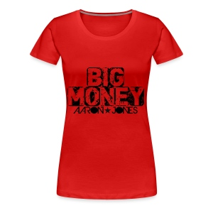 Big Money aaron jones - Maglietta Premium da donna