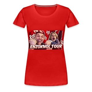 EnzoKnol Tour - Vrouwen Premium T-shirt
