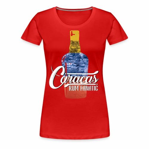 T-shirt Rum Fanatic - Caracas, Wenezuela - Koszulka damska Premium