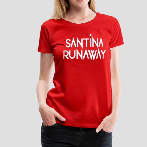 DJ Santina Runaway - Logo - Women's Premium T-Shirt