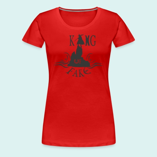 king of fake - Frauen Premium T-Shirt