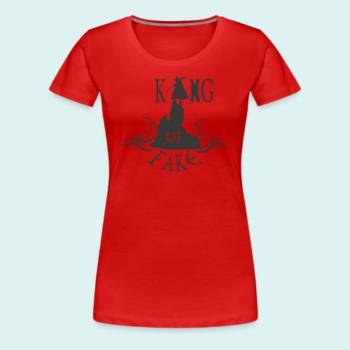 king of fake - Frauen Premium T-Shirt