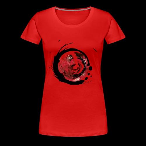 Moderne Kunst Wirbel - Frauen Premium T-Shirt