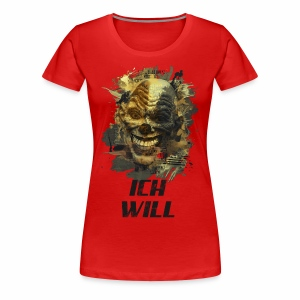 Ich Will - Golden Grunge - Frauen Premium T-Shirt