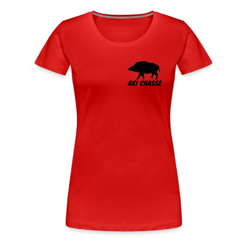 AXI Chasse - T-shirt Premium Femme