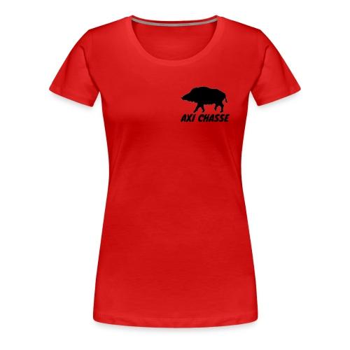 AXI Chasse - T-shirt Premium Femme