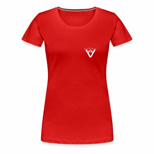Vlado'S Pictures LOGO WEIß - Frauen Premium T-Shirt
