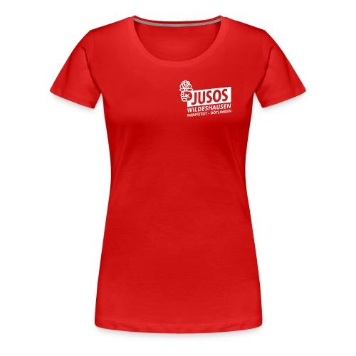 Jusos WHD weiß - Frauen Premium T-Shirt