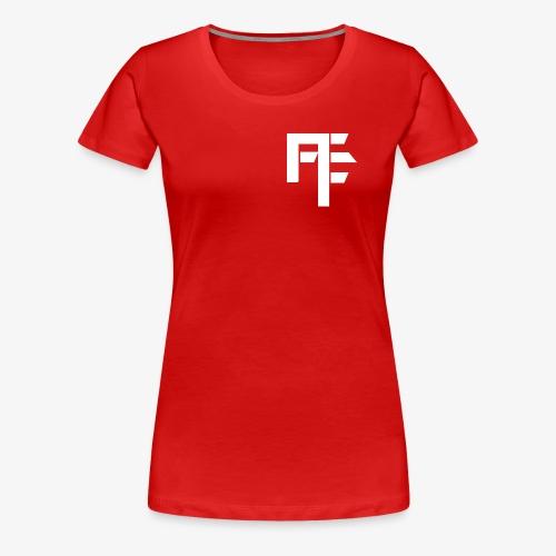 Petit Logo Teamfitfrance Blanc - T-shirt Premium Femme