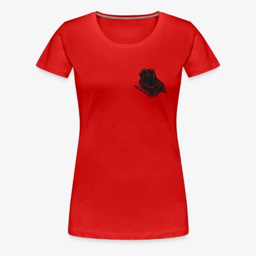 Dressurpferd #RealJolly - Frauen Premium T-Shirt