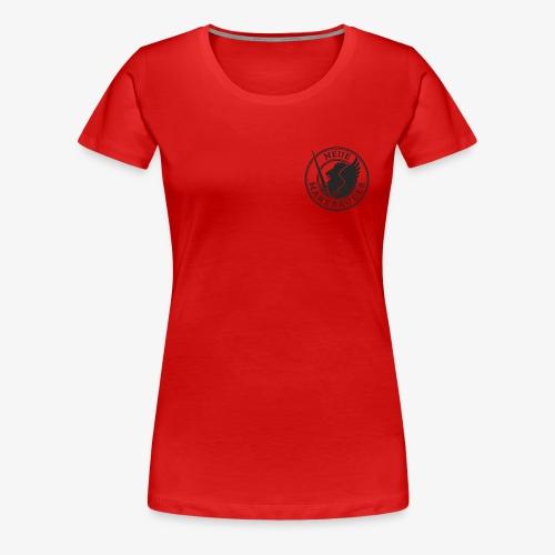 Neue Marxbrüder, schwarz - Frauen Premium T-Shirt